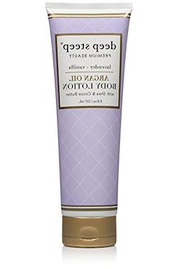 Deep Steep Argan Oil Body Lotion, Lavender Vanilla, 8 Fluid