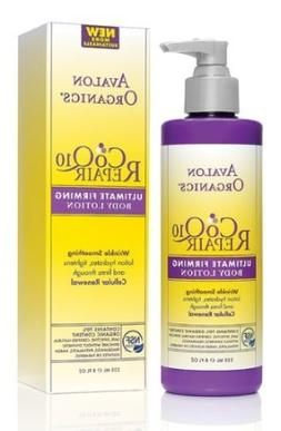 Avalon Organics: CoQ10 Ultimate Firming Lotion, 8 oz