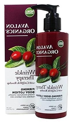 Avalon Organics CoQ10 Ultimate Firming Body Lotion, 8-Ounce