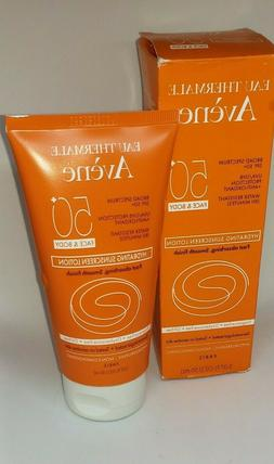 Avene Hydrating SunScreen Face and Body Lotion SPF50 Exp 12/