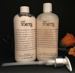 PHILOSOPHY BABY GRACE BODY LOTION & OLIVE OIL BODY SCRUB Bot