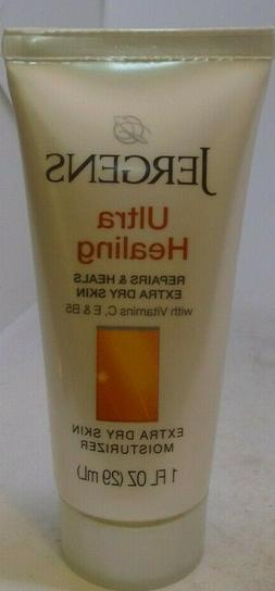 Jergens Ultra Healing Extra Dry Skin Moisturizer   1 Ounce T