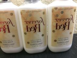 BATH & AND BODY WORKS FOREVER RED BODY LOTION MOISTURIZER  8