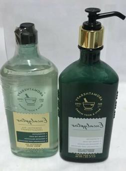 Bath & Body Works Aromatherapy EUCALYPTUS Essential Oil Body