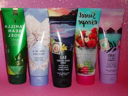 BATH & BODY WORKS BODY CREAM 8 OZ. SINGLES HOLIDAY AND MORE