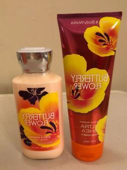 BATH & Body Works BUTTERY FLOWER Body Cream Body Lotion NWT