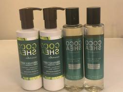 Bath & Body Works Coco Shea Cucumber Moisturizing Body Oil +