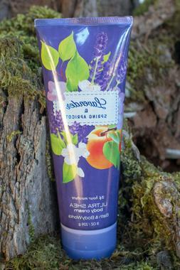 Bath & Body Works 'Lavender & Spring Apricot' Body Cream Lot