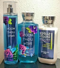 Bath & Body Works MOONLIGHT PATH Spray Body Lotion Shower Ge