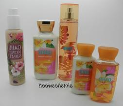 BATH & BODY WORKS Oahu Coconut Sunset - Choose Your Favorite