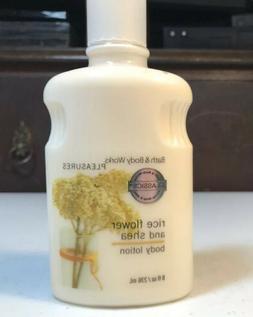 Bath & Body Works Rice Flower and Shea Body Lotion 8 oz. - N