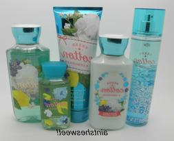 BATH & BODY WORKS Sheer Cotton & Lemonade - Choose Your Favo