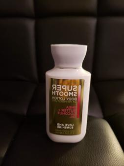 Bath And Body Works Super Smooth Body Lotion- Travel size