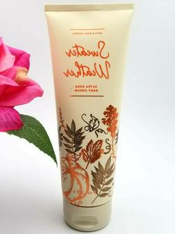 Bath and Body works SWEATER WEATHER Ultra Shea Body CREAM lo