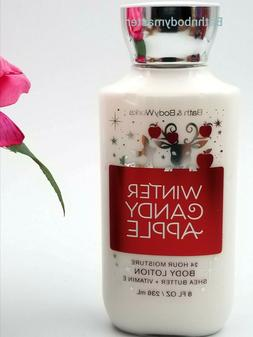Bath and Body works WINTER CANDY APPLE Body LOTION cream She