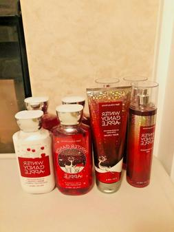 Bath & Body Works Winter Candy Apple Body Mists Body Cream L