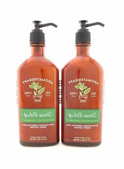 Bath Body Works 2 Stress Relief Eucalyptus Spearmint Lotion