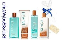 Bath and Body Works At The Beach  Set Lotion Body Cream Frag