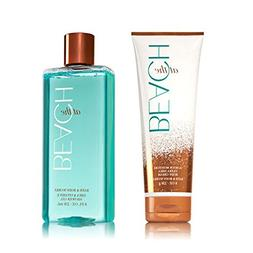 Bath & Body Works At The Beach Shower Gel & Ultra Shea Body