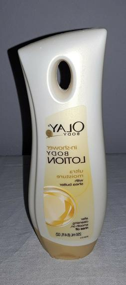 OLAY BODY IN-SHOWER BODY LOTION ULTRA MOISTURE WITH SHEA BUT