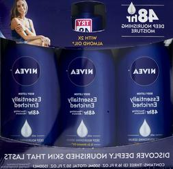 Nivea Body Lotion Essentially Enriched 48 Hour with 2x Almon