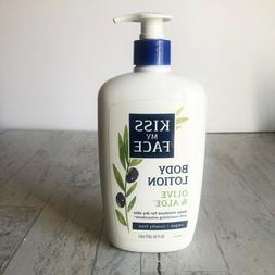 body lotion olive and aloe 16 oz