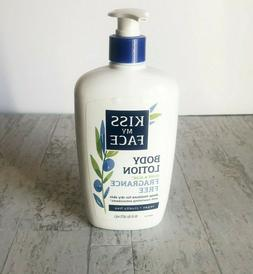 body lotion olive and aloe fragrance free