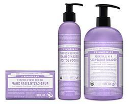 Dr. Bronner's 3-Piece Organic Lavender Gift Set -  Sugar P