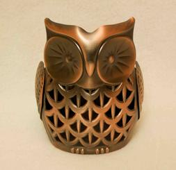 Bath & Body Works Bronze Owl SOAP AND LOTION HOLDER free shi