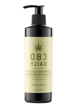 Earthly Body Cbd Daily Massage Lotion 8 Oz