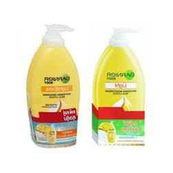 Choose 2X 400ml. Garnier Light/ Light Extra Whitening Repair