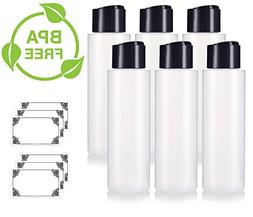 16 oz / 500 ml Professional Natural Clear Refillable Plastic