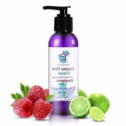 Diva Stuff Crepey Skin Cream Raspberry Lime   Anti-Aging Dee