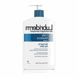 Lubriderm Daily Moisture Hydrating Lotion with Vitamin B5, 1