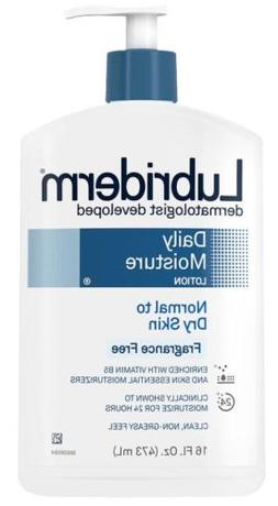 Lubriderm Daily Moisture Normal To Dry Skin Lotion, Fragranc