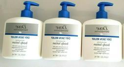 Dove DermaSeries Fragrance Free Body Lotion for Dry Skin, Go