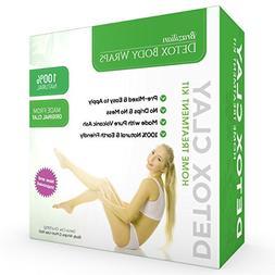 Brazilian Detox Clay Body Wraps  Slimming Home Spa Treatment