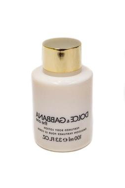 DOLCE & GABBANA THE ONE PERFUMED BODY LOTION FOR WOMEN 3.3 O