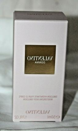 Valentino Donna 1.7 oz 50 ML Moisturizing Body Lotion Emulsi