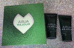 AURA MUGLER EDP Perfumed body lotion, shower milk 1oz each 2