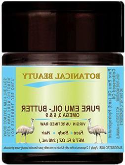 PURE EMU OIL- BUTTER. 100 % Natural - RAW - VIRGIN - UNREFIN