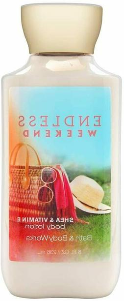 Bath and Body Works Endless Weekend  Body Lotion 8 Ounce