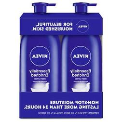 Nivea Essentially Enriched Lotion 21oz 2 Pack Smooth Lotion