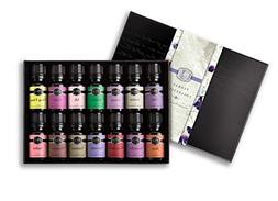 Floral Set of 14 Premium Grade Fragrance Oils - Violet, Rose