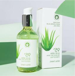 Gel Aloe Vera Natural Body Hair Face Sunburn Repair Cuts Lot