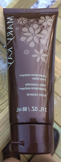Mary Kay Gingerspice Wishes Body Lotion 3 Oz. NEW