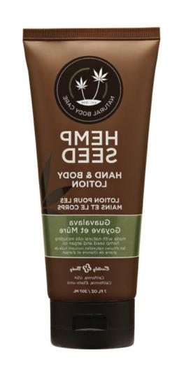 Earthly Body Hand and Body Lotion, Wild Surf, Hemp Seed, 3-O