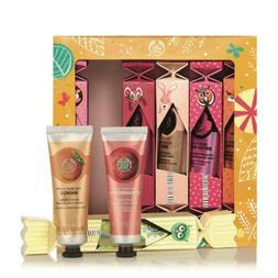 The Body Shop Hand Cream Crackers Gift Set