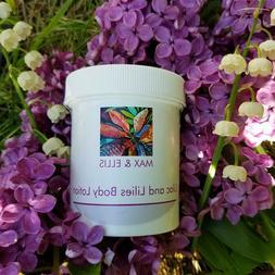 Handmade Shea Butter Body Lotion Lilacs & Lilies Fragrance P
