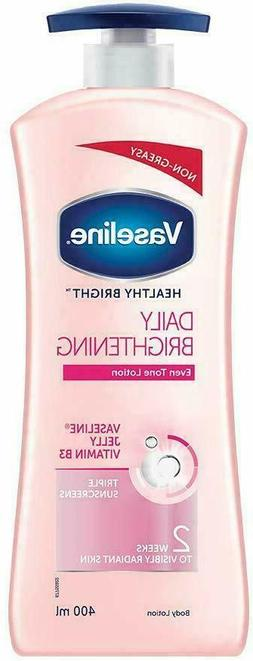 Vaseline Healthy Bright Daily Brightening Body Lotion Non Gr